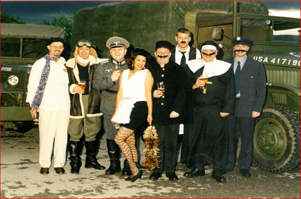Fund raising Allo Allo event for the Aimee Drew Trust